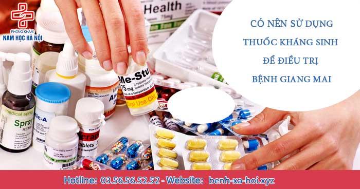 điều trị bệnh giang mai bằng thuốc