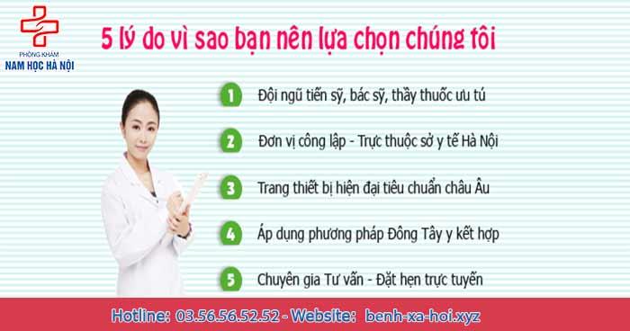 Địa chỉ chữa sùi mào gà tốt ở Hà Nội
