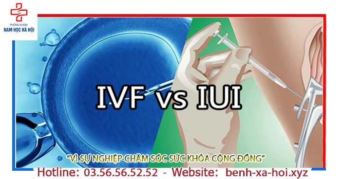 Phân biệt IUI và IVF - So Sánh Phương Pháp Điều Trị Vô Sinh Hiếm Muộn