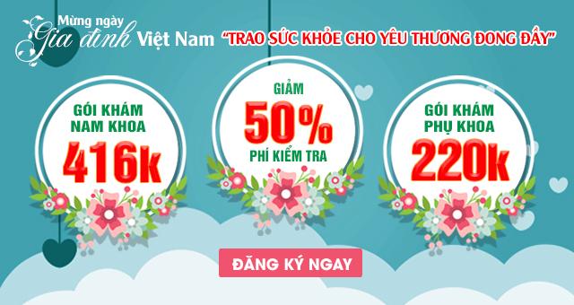 ưu đãi chào mừng ngày gia đình Việt Nam